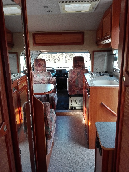 camping car pilote pacific 65 px 1993 concessionnaire aubevoye evreux normandie. Black Bedroom Furniture Sets. Home Design Ideas
